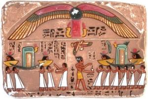 Essence of life. Powerwellness. ägyptisches gemäde
